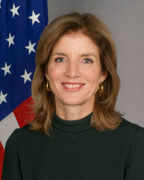 Ambassador Caroline Kennedy